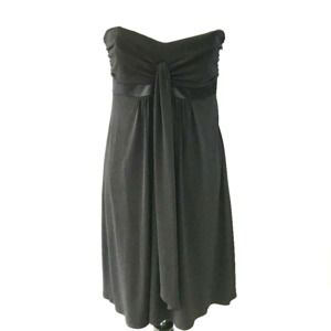Laundry by Shelli Segal Black Strapless Mini 8